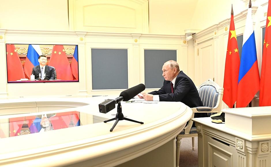 Беседа с Председателем КНР Си Цзиньпином